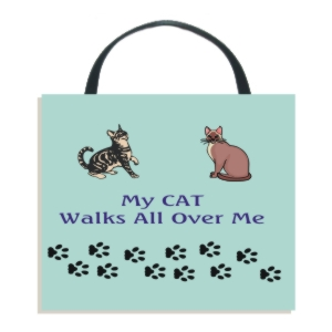 Cat Walks Wall Hanging