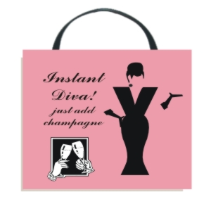 Instant Diva Wall Hanging