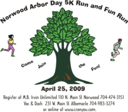 Norwood Arbor Day 5K & Fun Run