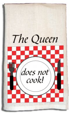 Towel The Queen Does Not Cook