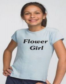 Flower Girl Tee Shirt